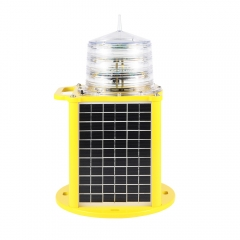 Portable Medium Intensity Type B Solar Aviation Obstruction Light