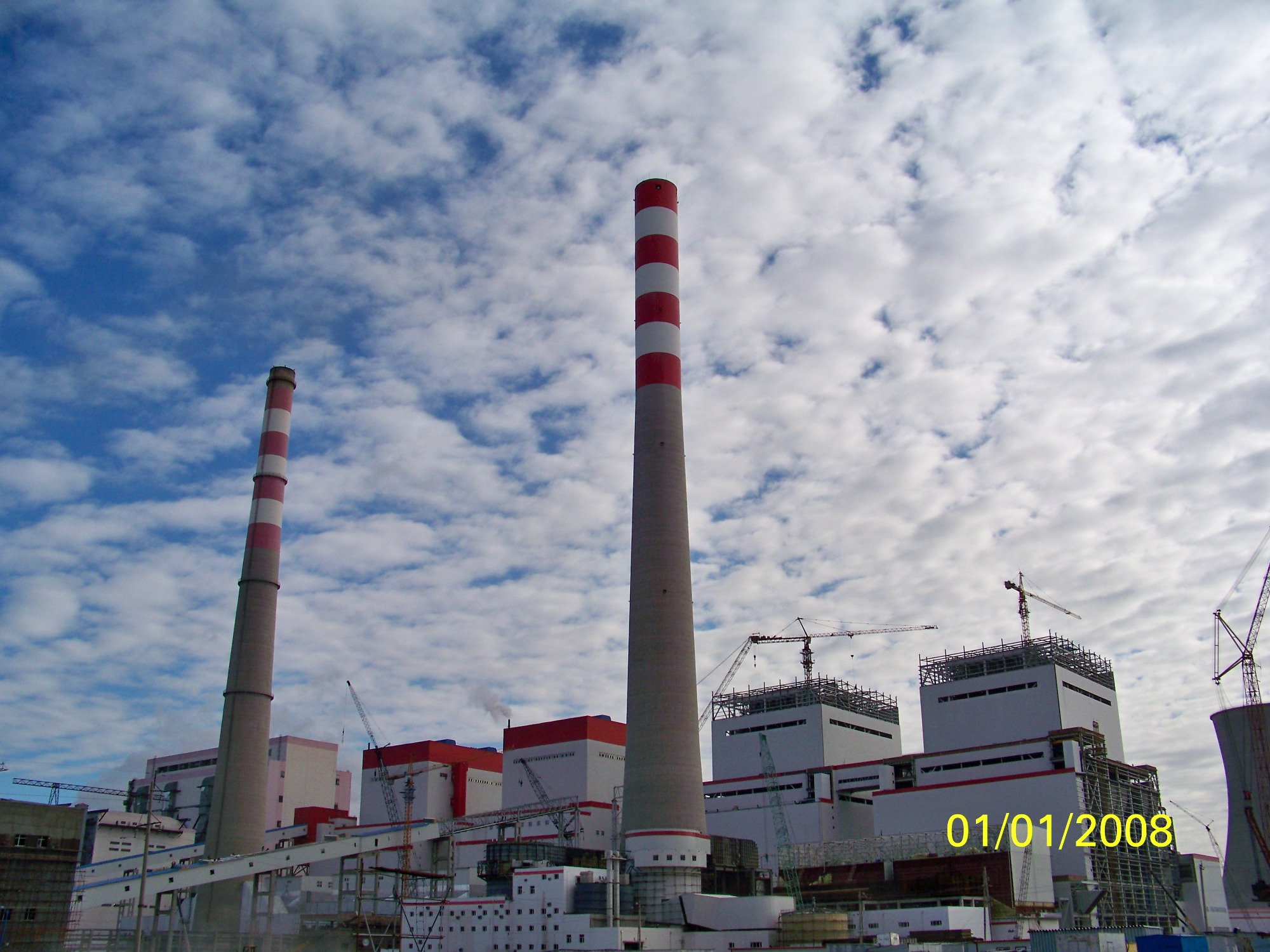 Inner Mongolia Yimin Power Plant Obstacle Light Project