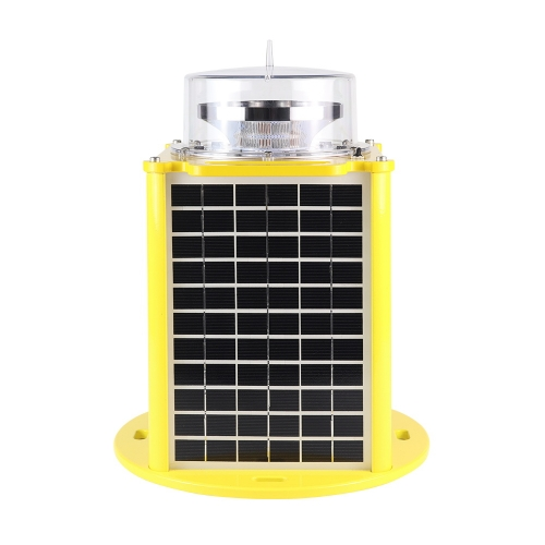 Solar Powered Portable High Intensity Type B Obstacle Warning Light