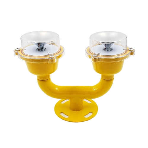 Dual Head FAA L810 Aviation Obstruction Lamp