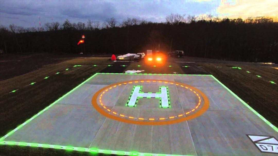 Pakistan Heliport Circle & H Lights Project