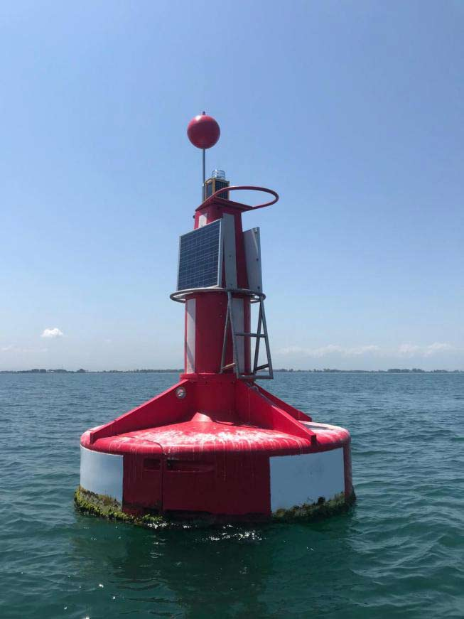 Iran Solar Powered Marine Navigation Light Project