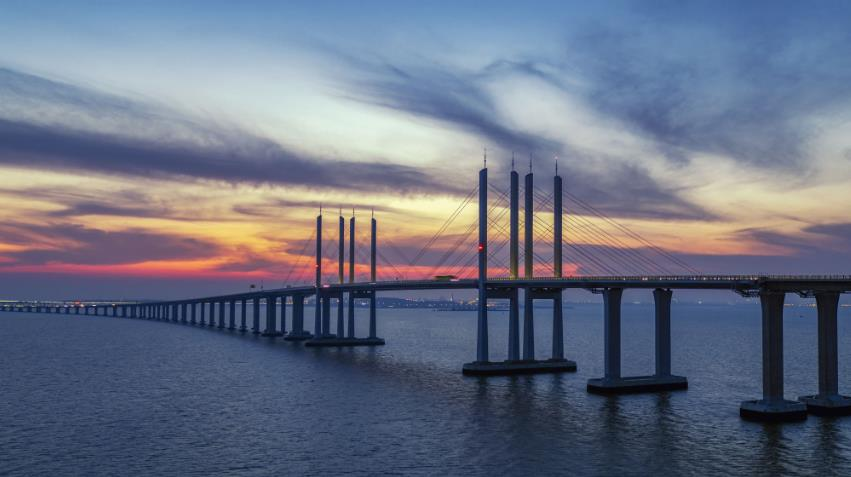 Qingdao Jiaozhou Bay Bridge Solar Navigation Light Project